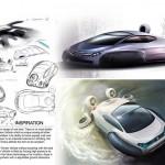 VW Aqua all-terrain hovercraft concept