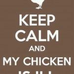 My chicken is ill