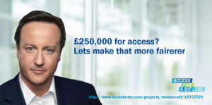 Shared Access to David Cameron - A Performance Art project in London, United Kingdom by RevDanCatt
