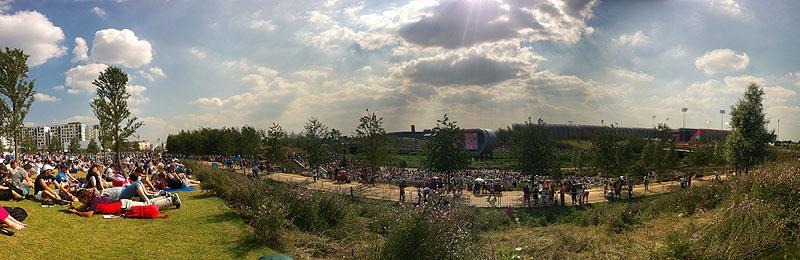 Olympic park panorama