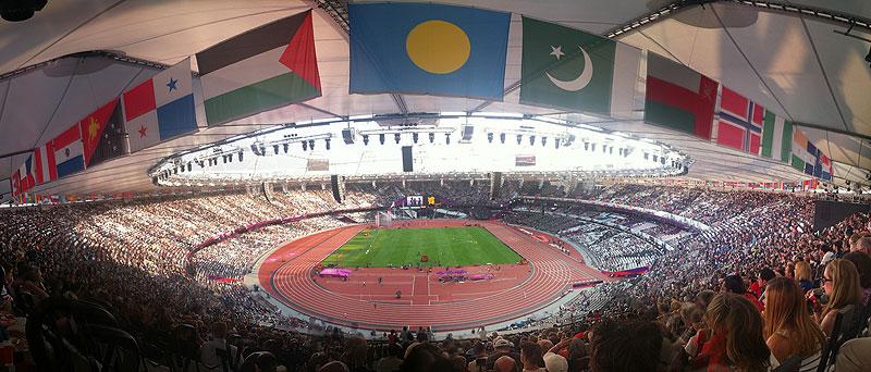 Olympic stadium panorama