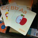 Favourite things flash cards - cards