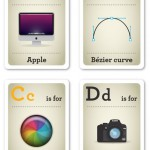 Design nerd flash cards - A-D