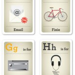 Design nerd flash cards - E-H