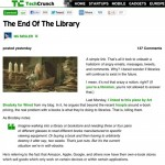TechCrunch assesses the future of the local library