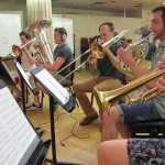 London band Vigilante Brass cover's Muse's Knights of Cydonia