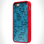 Phone case blue maze