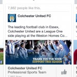 recommends Colchester United