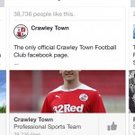 recommends Crawley Town
