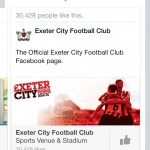 recommends Exeter city