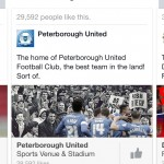 recommends Peterborough united