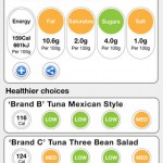 App gives you healthy options of supermarket food
